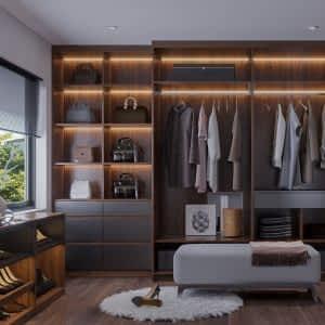 Ahşap Giyinme Odası 300x300 - Giyinme Odası