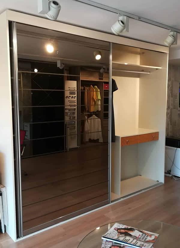 7 600x828 - Çizgili Aynalı 2 Kapaklı Dolap