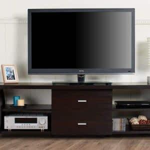 Kahverengi 2 Katlı TV Ünitesi 300x300 - TV Ünitesi