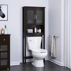 Siyah Ahşap Banyo Dolabı ve Mobilyası 300x300 - Banyo Dolapları