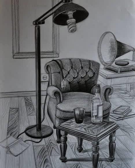 özel çizim mobilya ve ray dolap