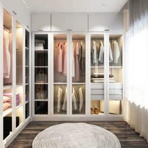 Camlı Giyinme Dolabı 300x300 - Giyinme Odası