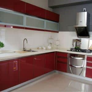 Kırmızı Mutfak Dolabı ve Mobilyası 300x300 - Mutfak Dolapları