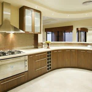 Oval Ahşap Mutfak Dolabı ve Mobilyası 300x300 - Mutfak Dolapları